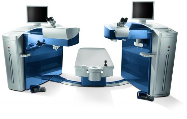德国鹰视FS200飞秒激光+EX500型准分子激光近视眼屈光手术组合平台.